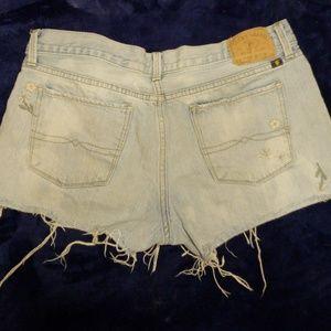 Lucky Brand Shorts - Lucky denim frayed short